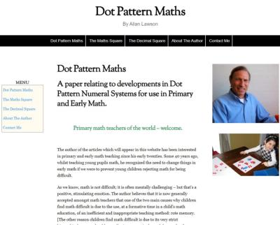 A paper relating to developments in Dot Pattern Numeral Systems for use in Primary and Early Math.